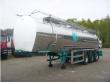 TANK SEMI-TRAILER FOR TRANSPORTATION OF CHEMICALS CRANE FRUEHAUF CHEMICAL TANK INOX 30M3/1 COMP