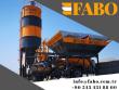 2019 FABO MINIMIX 30 MOBILE COMPACT CONCRETE BATCHING
