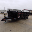 "DIAMOND C TRAILERS 82"" X 16' LOW PROFILE DUMP TRAILER W/ 10K AXLES - PAYMENTS FROM WITH DOWN W.A.C."