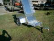 MBL ALUMINUM MOTORCYCLE PULL BEHIND TRAILER ENCLSOSED A