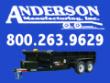 6X12 ANDERSON DUMP TRAILER HYDRAULIC SCISSOR