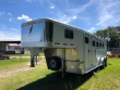 1999 FEATHERLITE 4 HORSE W/DRESSING ROOM HORSE TRAILER