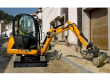 2015 MAKE AN OFFER 2015 JCB 8018 CTS 676 HOURS - E 8018 CTS