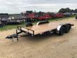 """2020 H & H 82""""X16' 7K CAR HAULER TRAILER #26609"""
