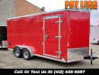 2019 US CARGO 7X16 ENCLOSED TRAILER, CARGO TRAILER, ATV TRAILER
