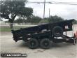 FOR RENT - 2018 BIG TEX 14FT DUMP TRAILER END DUMP TRAILER