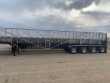 TRINITY 53X102 QUAD AXLE STAINLESS STEEL BELT TRAILER - AIR RIDE, FIXED AXLE