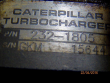 CATERPILLAR C15 TURBOCHARGER / SUPERCHARGER