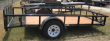 2020 TEXAS BRAGG TRAILERS 6 X 10 TRAILER WITH 2 FT DOVE AND 2 FT GATE
