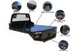 2020 CARSON SR-DIAMOND PLATE FLAT BED-BMNT HAULER