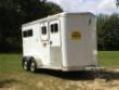 95 FEATHERLITE 2 HORSE BUMPERPULL EX COND.