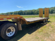 1990 DORSEY 30FT LOWBOY TRAILER - 30 TON, 14FT 6INCH WELL, FIXED NECK, HYDRAULIC RAMPS, TANDEM AXLE