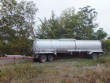 1991 BEALL 6800 GALLON SINGLE COMPARTMENT ALUMINIUM WASTE / SLUDGE TANK TRAILER