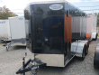 2021 CONTINENTAL CARGO NS612TA2, 6X12FT. ENCLOSED TRAILER, TANDEM AXLE, 7K RATED