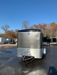 UNITED 6' X 10' CHARCOAL ENCLOSED TRAILER WITH RAMP