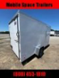 2020 COVERED WAGON TRAILERS 6X12 RAMP DOOR GOLD SERIES WHITE ENCLOSED CARGO TRAILER STOCK# ECCW612-6