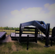 2019 SURE PULL TRAILER FLAT DOVETAIL TRAILER