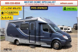 2012 LEISURE TRAVEL VANS WITH SLIDE AND POWER MURPHY BED