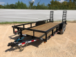 2019 PJ TRAILERS 20 FT. ANGLE EQUIPMENT TRAILER (P8)