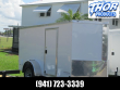 5 X 10 SA ENCLOSED TRAILER W/SIDE AND DOUBLE REAR DOORS RADIAL TIRES
