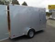 6X12 BULLET ENCLOSED CONCESSION TRAILER BASIC SILVER