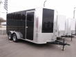 "ENCLOSED TRAILER 7 X 14 RAMP 6' 6"" TALL 7000 GVW BLACK"